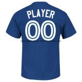 Maglietta rotonda di nome & di numero del giocatore di Toronto del collo degli uomini