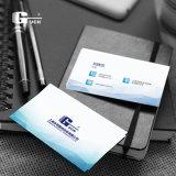 Материал карточки удостоверения личности PVC пробела дела изготовленный на заказ ясности печатание прозрачный пластичный