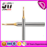Carvão sólido HRC60 Jinoo 2flutes PCB 0.5mm Micro End Mill