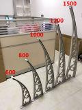 het Afbaarden van de Blinden van het Polycarbonaat van het Aluminium van 1000*1000mm