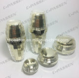 Frasco de creme acrílico de empacotamento da loção do frasco do ouro de cristal do cosmético (PPC-NEW-092)