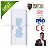 Type de porte de toilette Bois massif portes en verre
