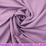 Le pongé 100% de polyester avec le blanc a enduit pour l'imperméable