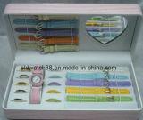 セットされるサングラスが付いている腕時計及び可変性ストラップ