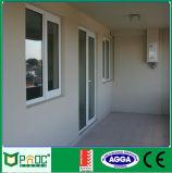 オーストラリアの市場のためのFlyscreenの商業アルミニウム開き窓のドア