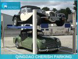 Автомобиль столба 4 паркуя подъем 4 столбов