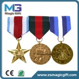 Distintivo della medaglia della polizia della spola del metallo personalizzato alta qualità