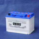 La batterie de voiture de mémoire DIN normale sèchent DIN75 chargé 12V75ah