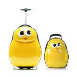 2PCS子供旅行トロリー荷物袋の漫画のスーツケース