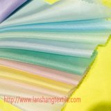 Tecido de poliéster de fibras químicas para vestir Cortina Camisa