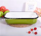 安い台所用品の毎日の使用の使用のエナメルの皿