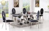 2017 nuevo diseño de la sala de estar Muebles de vidrio cuadrado de la mesa de centro Benz muebles Serie