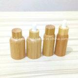 De nieuwe Fles van het Huisdier van het Bamboe van de Aankomst Plastic met Bamboe GLB/Druppelbuisje (ppc-BS-001)