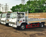 5トンの販売のためのディーゼル軽い貨物自動車のトラックの積み込み
