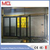 Portello di vetro di alluminio di Commerical per i progetti di costruzione