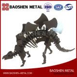우수 품질 Laser 절단 공룡 조각품 금속 사무실 또는 선물 또는 가정 훈장은 공장에서 지시한다