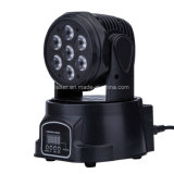 Mini illuminazione capa mobile del partito della discoteca dell'indicatore luminoso della fase dell'indicatore luminoso LED di 7*10 RGBW LED