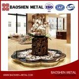 Accueil/bureau/Hall d'exposition de la forme de fleur de décoration du réservoir de la Fabrication de tôle d'ingénierie