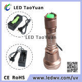 UV linterna de alimentación para LED de 3W 365nm