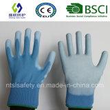 Покрынная PU перчатка безопасности работы (SL-PU201B2)