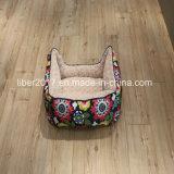 Gewebe-Blumen-Drucken-Haustier-Produkt-Hundekatze-Bettwäsche-Sofa-Bett-Haus-Matratze