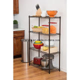 Black Light Duty Metal Storage Rack (LD9035137A4E)