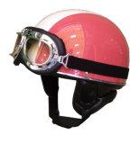 В немецком стиле мотоцикла половины поверхности шлем с очками. Хорошие продажи из Китая
