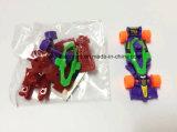 Deslizándose y coche de competición de la asamblea de DIY en los juguetes promocionales para los cabritos