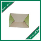 Personalizadas de Brown caja de cartón corrugado con la manija