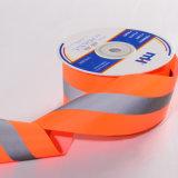 5 X 1.5cm de Oranje Weerspiegelende Band van de Stof van de Veiligheid
