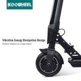 Elektrischen Roller oben stehen