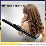 Productos automático al por mayor 3 en 1 plancha de pelo y rizador