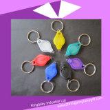 Anello portachiavi chiaro personalizzato/Keychain del LED per promozionale (KLK-002)