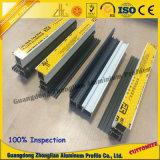Fabricante 6063 Perfil de ventana de cortina de aluminio para la construcción
