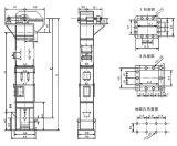 Alzamiento Convyer (TD400) del compartimiento de la serie de TD