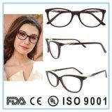 In het groot Voorraad Eyewear van het Frame van de Acetaat van het Frame van het Oogglas van de manier de Nieuwe Optische