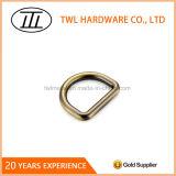Anel-D de bronze antigo escovado liga do zinco