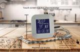 Термометр BBQ экрана касания нержавеющей стали цифровой с зондом для кухни