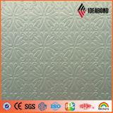 Bobine en aluminium pré-imprégné PE / PVDF en relief (série tactile)