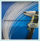 Talla de encargo del tubo disponible del plástico de la lubricación del grado médico del HDPE
