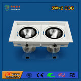 High Power 10W LED Grille Light para o hotel