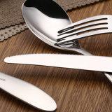 뷔페 숟가락 칼과 포크를 위한 칼붙이