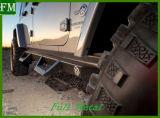 Côté Noir mat Étapes pour Jk Jeep Wrangler 07-17 2&4porte