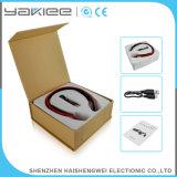 Auriculares estereofónicos sem fio vermelhos de Bluetooth do vetor sensível elevado