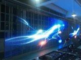 Indicador de diodo emissor de luz transparente usado para o indicador de vidro do edifício ou da loja