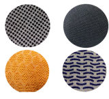 Ddsafety 2017 guanti lavorati a maglia poliestere del nylon con la barretta mezza