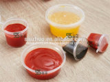 2oz Split Injection Salsa de plástico desechable Cup