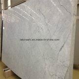 Bianco Statuario Venato Marcado con etiquetas de tamaño a medida para pisos / escaleras / encimeras / tocadores / baldosas de baño