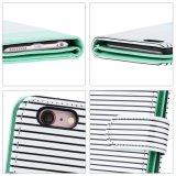 случай/крышка кожи бумажника Multi-Шлицев iPhone 7 синтетические