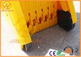 безопасность дороги 3.9m дуя портативный расширяемый пластичный строб барьера